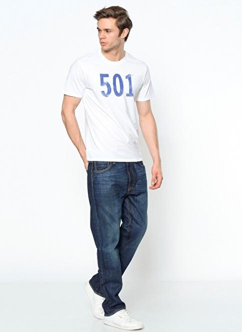 Levi's® Jean Pantolon | 501 - Regular Lacivert